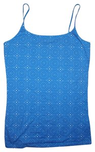 3e00fa0dabeb95 Indigo by Great Northwest Stretch Adjustable Spaghetti Straps Top Blue