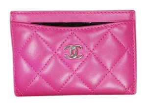 Chanel Chanel Card Case / Pink Fusiha 2016 Spring Collection