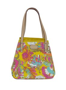Kate Spade Floral Print Leather Tote