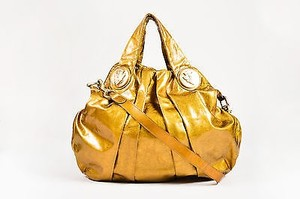 Gucci Patent Leather Hysteria Hobo Bag
