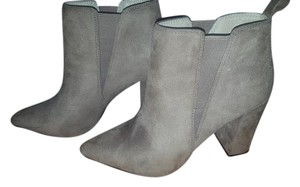 BCBGMAXAZRIA Bcbg Suede Chunky Taupe Boots