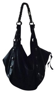 Thomas wylde lambskin black circus bag Hobo Bag