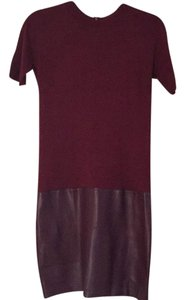 Susana Monaco short dress Oxblood on Tradesy