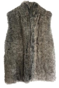 French Connection Faux Fur Vest