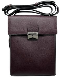 Burberry Deep Claret Messenger Bag