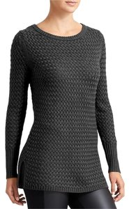 Athleta Knit Long Sleeve Stretchy Solid Sweater
