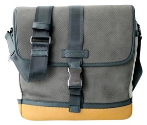 Coach Grey Messenger Bag