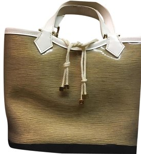 Louis Vuitton Tote in Beige And Cream