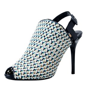 Salvatore Ferragamo Oxford Blue Pumps