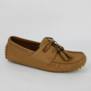 f23e96cc3af Gucci Brown Men s Leather Bamboo Tassel Loafer Driver G 8.5 G  Us 9 367923  7723