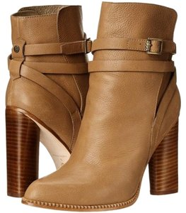 Twelfth St. by Cynthia Vincent Leather Winter Camel Boots