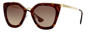 Prada PR 53SS 2AU3DO (color) TORTOISE with GOLD TRIM