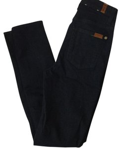 7 For All Mankind Skinny Pants Dark blue