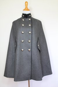 Burberry Military Cashmere Wool Cape