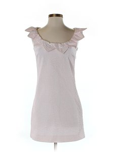 Love Moschino short dress Pink Seersucker Shift Sheath on Tradesy