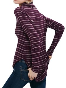 Free People Bohemian Pullover Ribbed Sweater