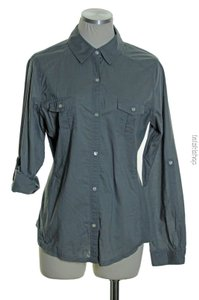 Old Navy Button Down Shirt Gray