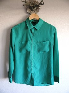 Mossimo Supply Co. Button Down Shirt Mint