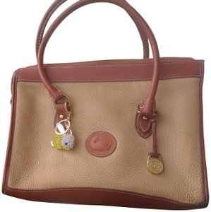 Dooney & Bourke Satchel in Buttery yellow satchel/laptop bag