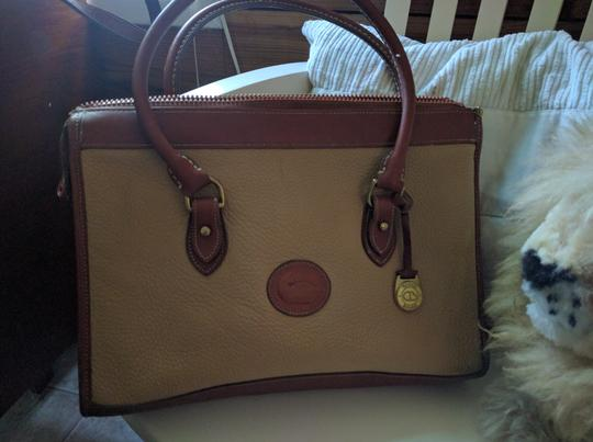 Dooney & Bourke Satchel in Buttery yellow satchel/laptop bag Image 2