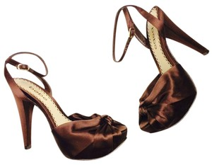 bebe Brown Pumps