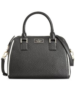 Kate Spade Pxru6626 098689924588 Pippa Prospect Place Crossbody Satchel in Black