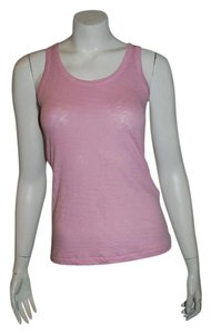 Rag & Bone Muscle Double Layer Tank T Shirt rose