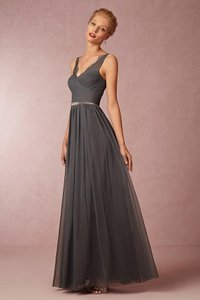 BHLDN PEWTER Fleur Dress Dress