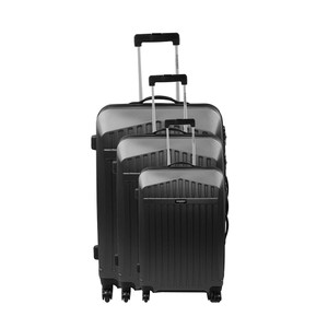 Jean-Louis Scherrer Jean Louis Scherrer Alphonso 3 Pieces Luggage Set (Black)