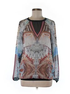 Clover Canyon Artsy Print Top