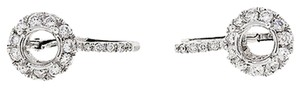Other 0.87,Ct,Diamond,14k,14,K,White,Gold,Womens,Ladies,Earrings