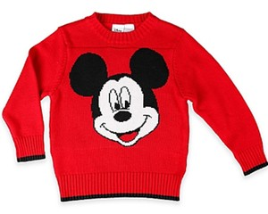 Nwt Disney Mickey Mouse 4t Toddler Sweater