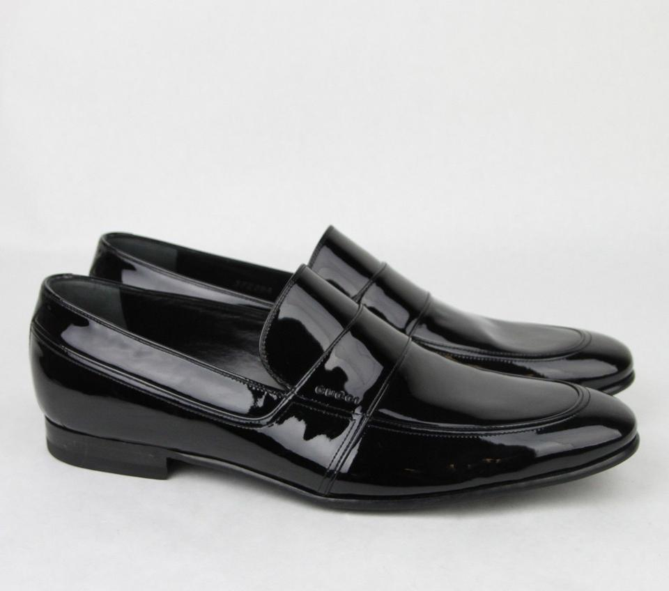 1c2dfcf0 Gucci Black Men's Patent Leather Loafer 9/ Us 10 372284 Bnc00 Shoes 41% off  retail