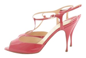 Christian Louboutin Pink Sandals Fuchsia Pumps