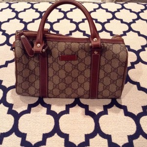 Gucci Satchel in Tan/Brown