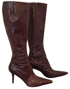 Ellen Tracy Brown Boots