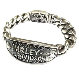 Harley Davidson Very Heavy and Beautiful!!! Harley Davidson Sterling Silver Bracelet 9