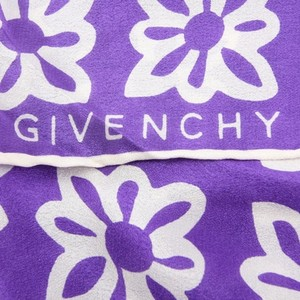 Givenchy Authn. Givenchy Purple Scarf