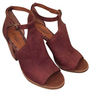 Lucky Brand Rich brown Mules