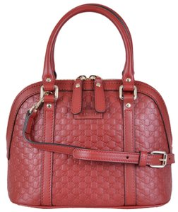 Gucci Mini Dome Satchel in Red