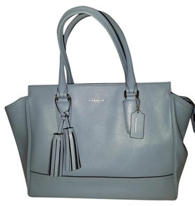 Coach Candace Tassle Tote in Chambray