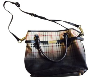 Burberry Tote in Degrade Haymarket Check