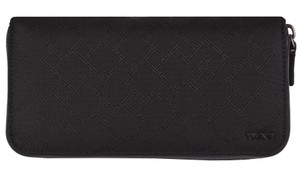 Tumi Tumi Men's 13287 Ticon ID Lock Black Signature Zip Around Wallet