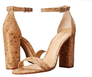 SCHUTZ Cork (Natural Tan) Pumps
