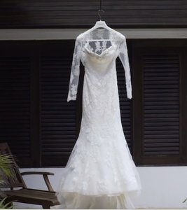 Pronovias Printa Wedding Dress