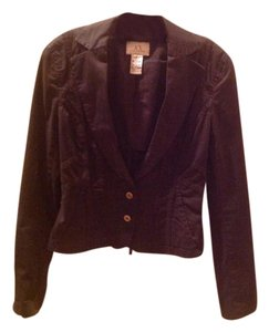 A|X Armani Exchange Body Hugging Black Jacket