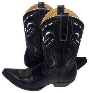 Old Gringo Size 8 Cowgirl Western Black Boots