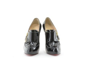 Christian Louboutin Patent Leather Black Boots