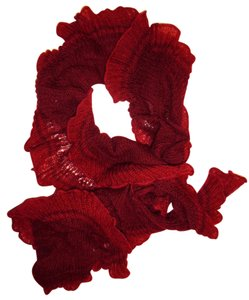 Other Stretchy Slouchy Wide Thin Knit Scarf