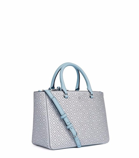 Preload https://item3.tradesy.com/images/tory-burch-robinson-perforated-metallic-small-multi-tote-soft-silver-leather-satchel-20034312-0-0.jpg?width=440&height=440